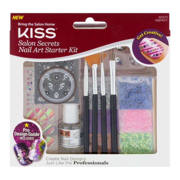 Kiss Salon Secrets Nail Art Starter Kit (1 KIT) from H-E-B - Instacart