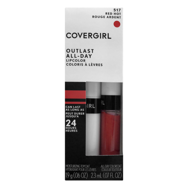 CoverGirl Outlast All-Day Nude Flush Lip Color, 1 ct - Kroger