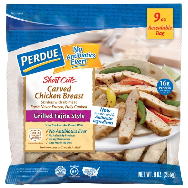 Perdue Carved Chicken Breast Grilled Fajita Style From Food Lion