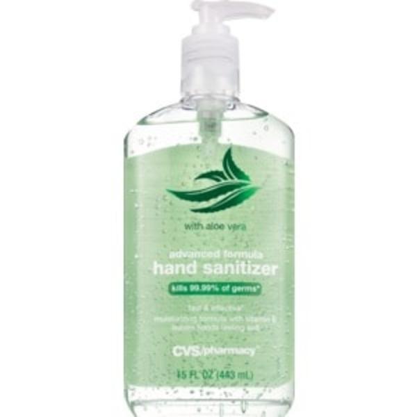 Cvs Advanced Formula Hand Sanitizer With Aloe 15 Oz Instacart