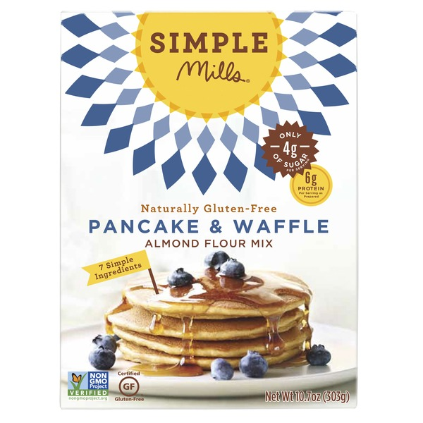 Simple Mills Almond Flour Mix Pancake Waffle From Safeway Instacart
