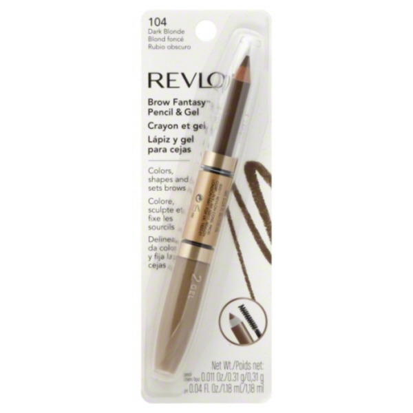 9604e66727d Revlon Brow Fantasy Pencil and Gel 104 Dark Blonde (1.0 ct) from Kroger -  Instacart