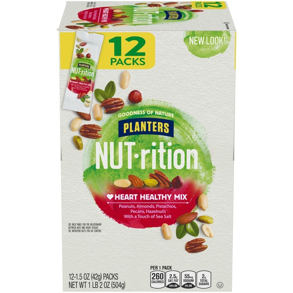 Planters NUT-rition Healthy Nut Mix from BJ's Wholesale Club ... on healthy design, healthy cover, healthy live, healthy old, healthy shape, healthy milk, healthy flour,