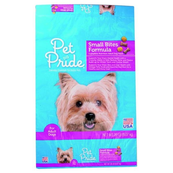 Pet Pride Small Bites Dog Food (20 lb) from Ralphs - Instacart