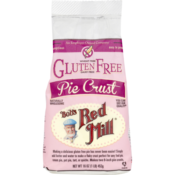 Bob's red mill pie crust gluten free from whole foods market.