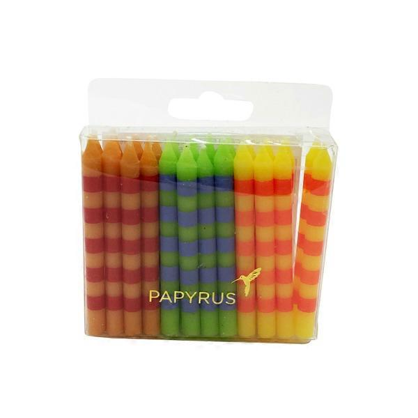 Papyrus Cards Candles Birthday Stripes
