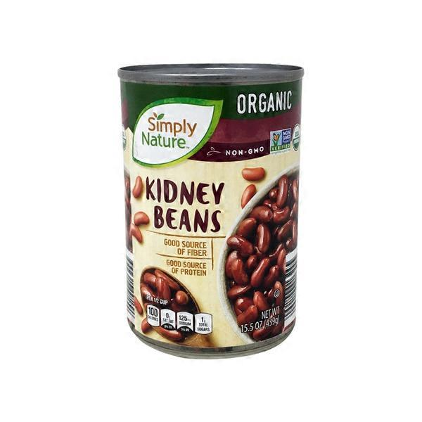 Simply Nature Kidney Beans 15 5 Oz Instacart