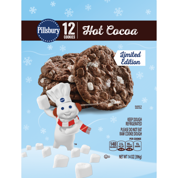 Pillsbury Limited Edition Hot Cocoa Rtb Cookies 14 Oz From Giant