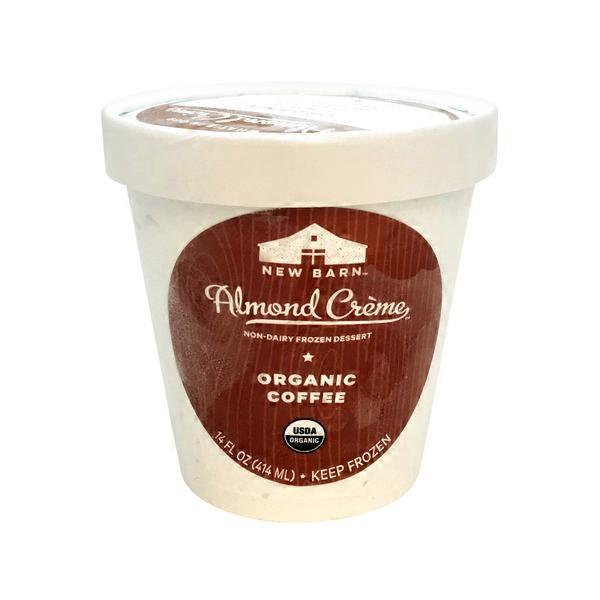 New Barn Non Dairy Almond Creme Coffee Ice Cream