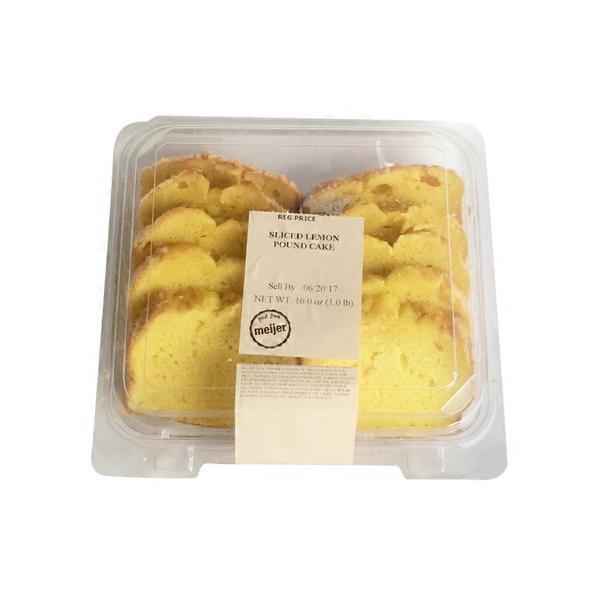 Olsons Baking Company Sliced Lemon Creme Cake From Meijer Instacart