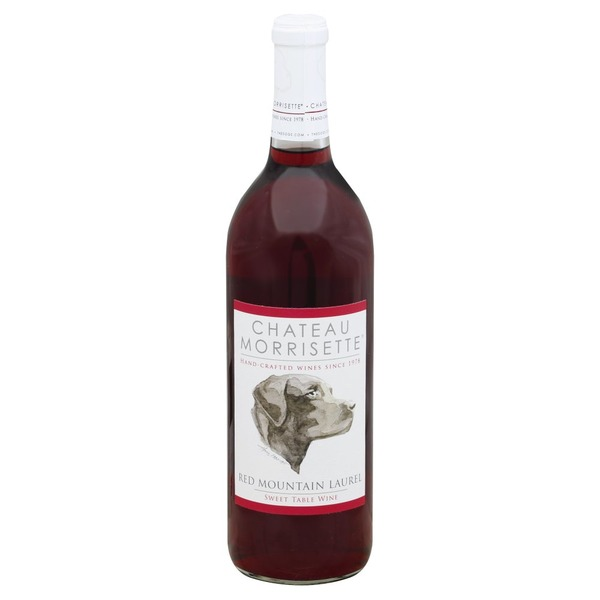 Chateau Morrisette Table Wine Sweet Red Mountain Laurel