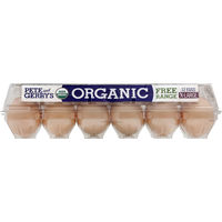 Pete and Gerry's Eggs, Organic, Free Range, Extra Large, Grade A