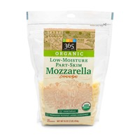 365 Organic Shredded Mozzarella