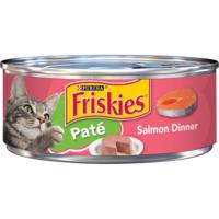 Friskies Pate Wet Cat Food, Salmon Dinner