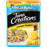StarKist Tuna, Premium, Lemon Pepper, Lightly Seasoned