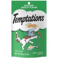 Temptations Seafood Medley Cat Snacks & Treats