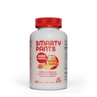 SmartyPants Kids Formula Daily Gummy Multivitamin: Vitamin C, D3, and Zinc for Immunity, Gluten Free, Omega 3 Fish Oil (DHA/EPA), Vitamin B6, Methyl B12 (30 Day Supply)