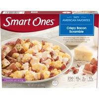Smart Ones Crispy Bacon Scramble with Eggs, Creamy Cheese Sauce & Potatoes Frozen Meal