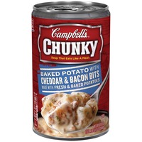 Campbell's Baked Potato with Cheddar & Bacon Bits Soup