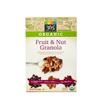 365 Organic Fruit And Nut Granola Cereal