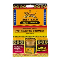 Tiger Balm Ultra Strength Pain Relieving Ointment Sports Rub