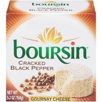 Boursin Cracked Black Pepper Gournay Cheese