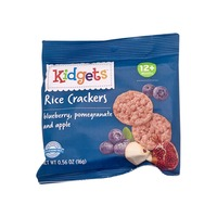 Kidgets blueberry, pomegranate and apple Rice Crackers
