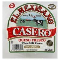 El Mexicano Cheese, Whole Milk, Casero