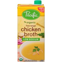 Pacific Organic Free Range Low Sodium Chicken Broth
