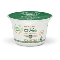 Whole Foods Market 2% Organic Lowfat Plain Greek Yogurt