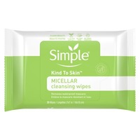 Simply Cleansing Wipes Micellar
