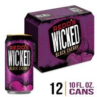 Redd's Wicked Black Cherry Malt Beverage, Cans