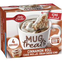 Betty Crocker Mug Treats, Cinnamon Roll