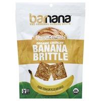 Barnana Banana Brittle, Organic Crunchy, Peanut Butter