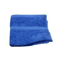 Interiors by Design Blue Cotton Washcloths