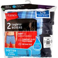 Hanes Boxers, Tagless, L/G