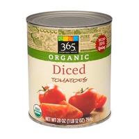 365 Organic Diced Tomatoes