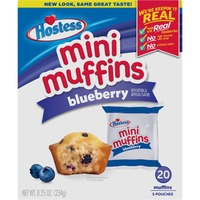 Hostess Blueberry Mini Muffins Pouches