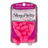 Sleep Pretty In Pink Ear Plugs - 14 Pair