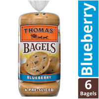 Thomas Blueberry Pre-Sliced Bagels