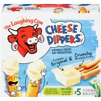 The Laughing Cow Original Creamy Swiss Cheese Dippers