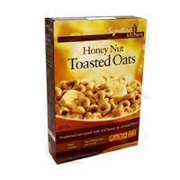 Signature Kitchen Honey Nut Toasted Oats Cereal