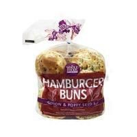 Whole Foods Market Onion And Poppy Seed Hamburger Bun