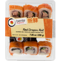 Bento Express Roll, Red Dragon, Tray