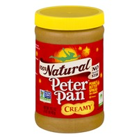 Peter Pan 100% Natural Peanut Butter Spread Creamy