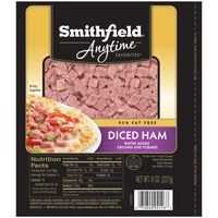 Smithfield Anytime Anytime Favorites Diced Ham