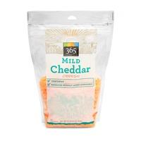365 Mild RBGH-Free Shredded Cheddar
