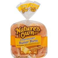 Nature's Own Hamburger Butter Buns