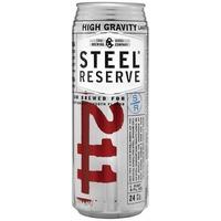 Steel Reserve Malt Liquor