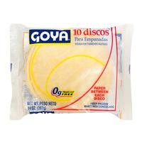Goya Empanada Dough Discs for Turnover Pastries